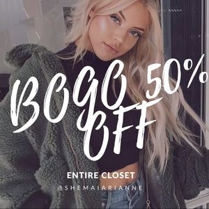 Tops - BOGO 50% OFF ENTIRE CLOSET!